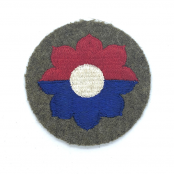 Patch, 9th Infantry Division, Embroidered on Felt
