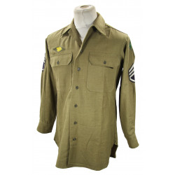 Shirt, Wool, Staff Sergeant, 4th Infantry Division