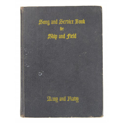 Book, Chaplain Song and Service, US Army and US Navy, 1942