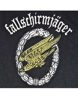 Polo, black, Fallschirmjager