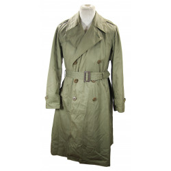 Overcoats, Field, Officer's, Trench Coat, US Army, 1944, 37R