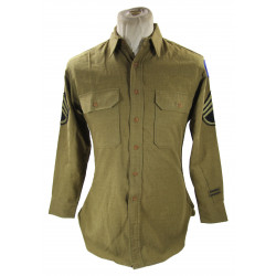 Shirt, Wool, Staff Sergeant, 88th Infantry Division