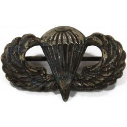 Wings, Jump, Parachutist, US Army, Miniature, Sterling, N.S. Meyer Inc.