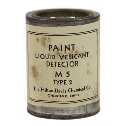 Paint, Detector, Vesicant, Liquid, M5