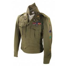 Grouping, S/Sgt. Daniel Burns, Co. C, 26th Inf. Reg., 1st Infantry Division, ETO