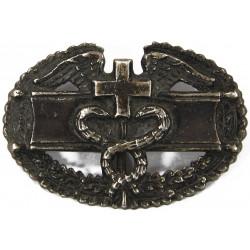 Badge, Combat Medic, US, Sterling