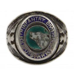 Ring, 104th Infantry Division, Sterling Silver, Enamel