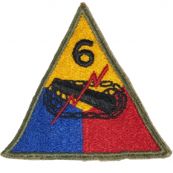 Patch, 6th Armored Division