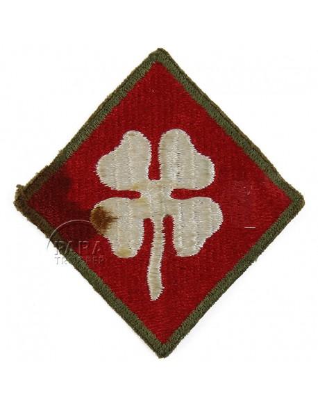 Insigne, 4e armée, dos vert
