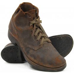 Shoes, Combat, Roughouts, US Army, 9 1/2 D
