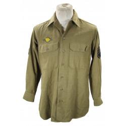 Shirt, Wool, Staff Sergeant, 15½ x 33, 9th Air Force