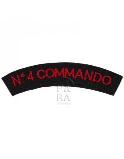 Titre d'épaule N°4 Commando