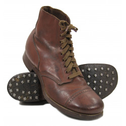Shoes, Service, Type I, Hobnailed, US Army, 10 D