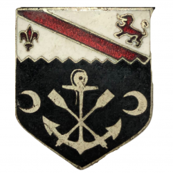 Distinctive Insignia, Crest, 1st Engineer Bn., 1st Inf. Div., Big Red One, Omaha Beach