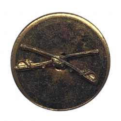 Disk, Collar, US Cavalry, Screw Back