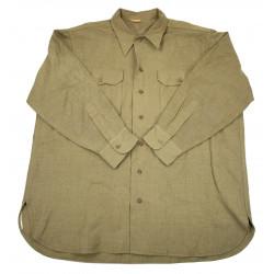Shirt, Wool, Size 17 ½ x 33