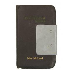 New Testament, Named, T/3 Max McLeod, 1941