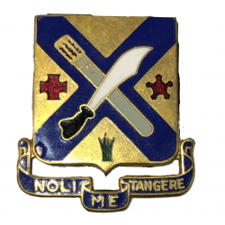 Distinctive Insignia, 2nd Inf. Rgt., 5th Infantry Division, Pin Back
