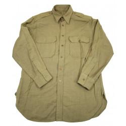 Shirt, Wool, Officer, Small