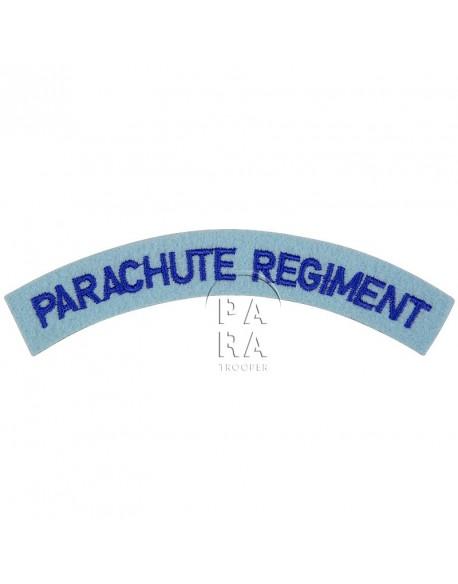 Title, Parachute Regiment