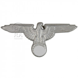 Aigle de casquette Waffen SS, métal