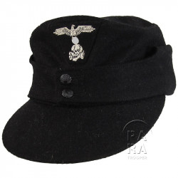 Cap, M-1943, Black, Panzer SS