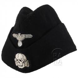 Cap, Field, elite troop, Panzer, black