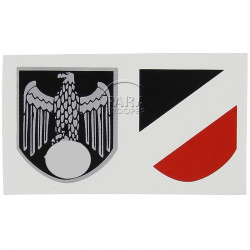 Decals, Helmet, Wehrmacht
