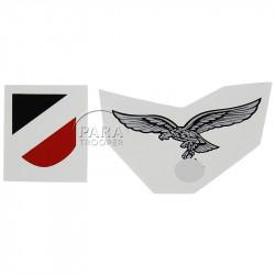 Decals, 2nd type, Helmet, Luftwaffe