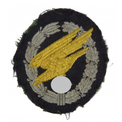 Badge, Parachutist, Luftwaffe, Cloth