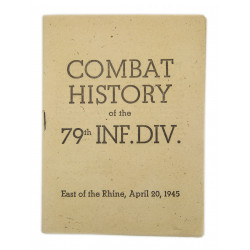 Booklet, Historical, 79th Infantry Division, April 1945