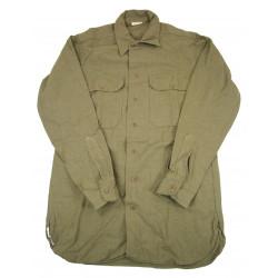 Shirt, Wool, Size 14½ x 33, 1942