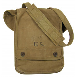 Case, Canvas, Dispatch, M-1938, US Army, American Leather Products Corp., 1942