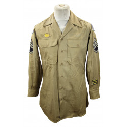 Shirt, Cotton, Khaki, Special, Staff Sergeant, 3rd Infantry Division