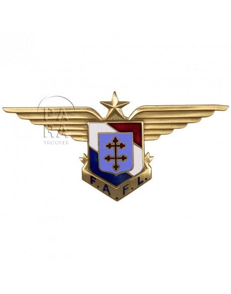 Insigne des Forces Aériennes Françaises Libres (F.A.F.L.)