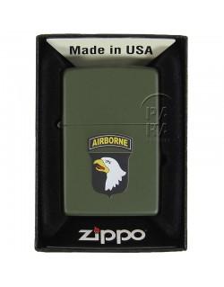 Briquet US, fabrication Zippo 1943, 101st