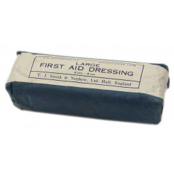 First Aid Dressing, Large, British, 1939, Dunkirk