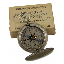 Compass, Pocket Type, USAAF, Longines-Wittnauer, 1943