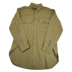 Shirt, Wool, US Army, Size 15 ½ x 33, 1941
