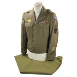 Grouping, M/Sgt. Nicholas Hanisak, 100th Infantry Division, ETO