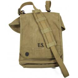 Case, Canvas, Dispatch, M-1938, US Army, Boyt, 1942, Major LaVerne Rivers