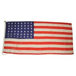 Flag, US, 48 Stars, 2' x 4.4'