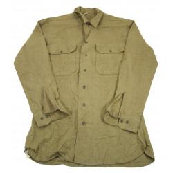 Shirt, Wool, US Army, Size 15 ½ x 34, 1944