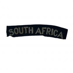 Shoulder Title, South Africa, Royal Air Force, Officer, RAF