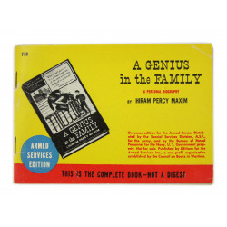 Novel, US Army, A Genius in the Family