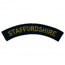 Title, Staffordshire, Embroidered