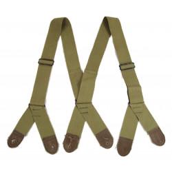 Suspenders, Jump Trousers, M-1942, Light OD