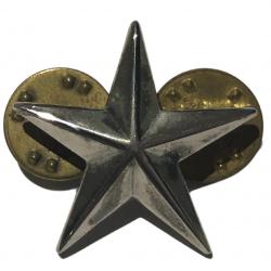 Grade en métal de Brigadier General, à pin's