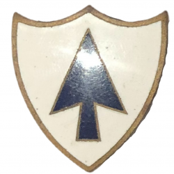 Distinctive Insignia, 26th Inf. Rgt., 1st Inf. Div., Screw Back
