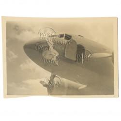 Photo, USAAF, C-47, Nose Art, Georgia Peach